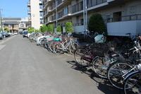 駐輪場:整備の行き届いた駐輪場です。