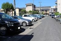 駐車場:綺麗な駐車場です。